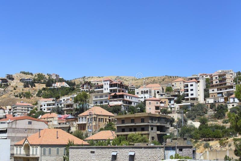 Zahle, Líbano fotografia de stock