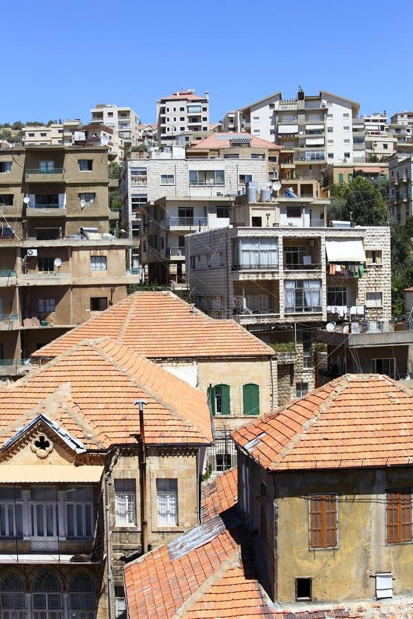 Zahle, Líbano imagem de stock royalty free