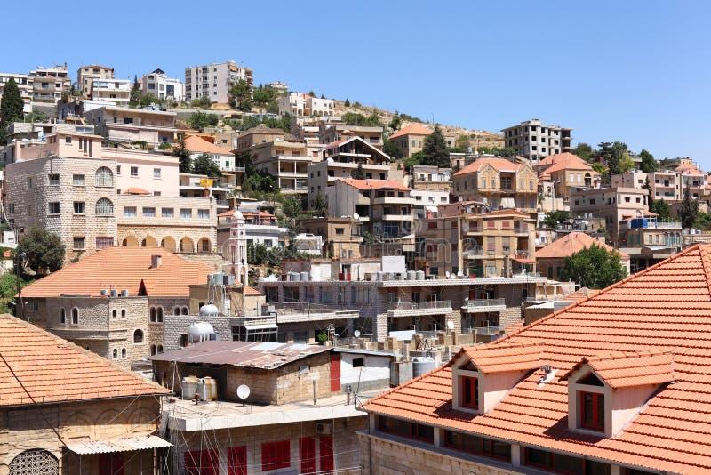 Zahle, Líbano foto de stock royalty free