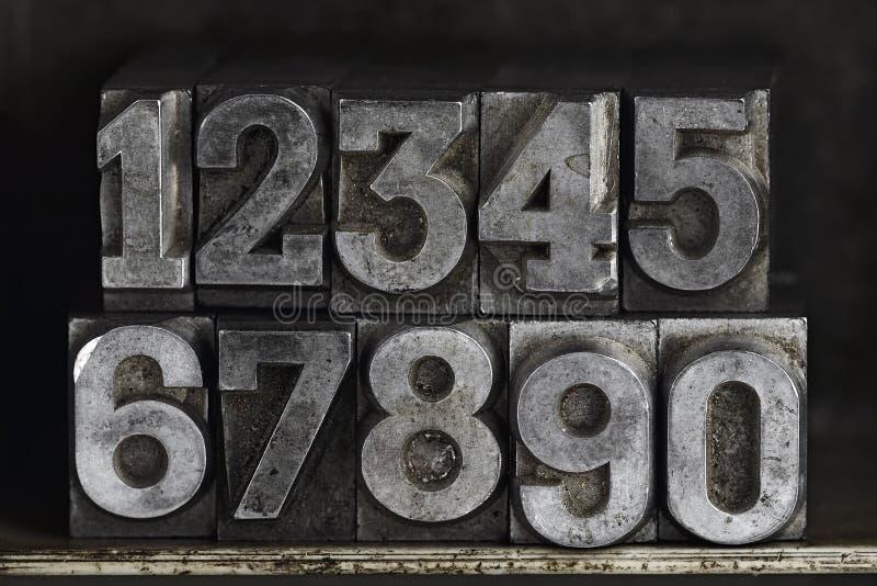 Zahlen lizenzfreie stockfotos