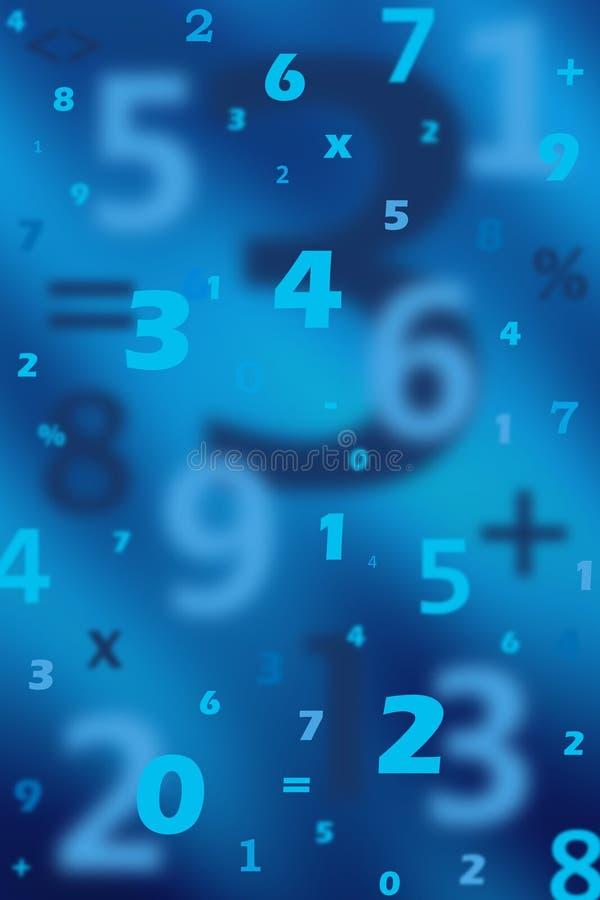 Zahlen lizenzfreie abbildung