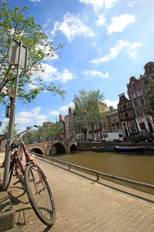 Zahlt Bas - Amsterdam lizenzfreies stockbild