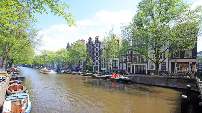 Zahlt Bas - Amsterdam stockfoto