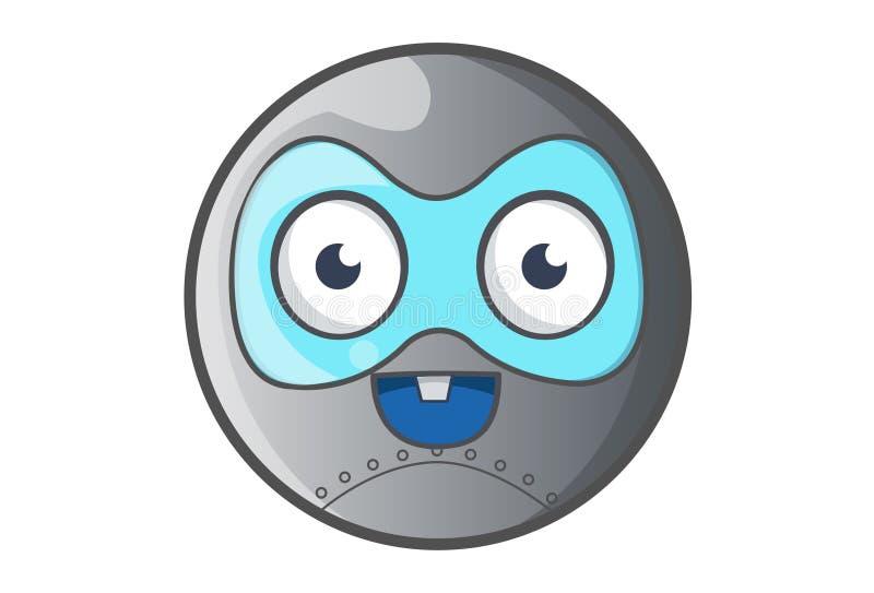 Zahn der Ball-Roboter-glücklicher Vertretung eine vektor abbildung