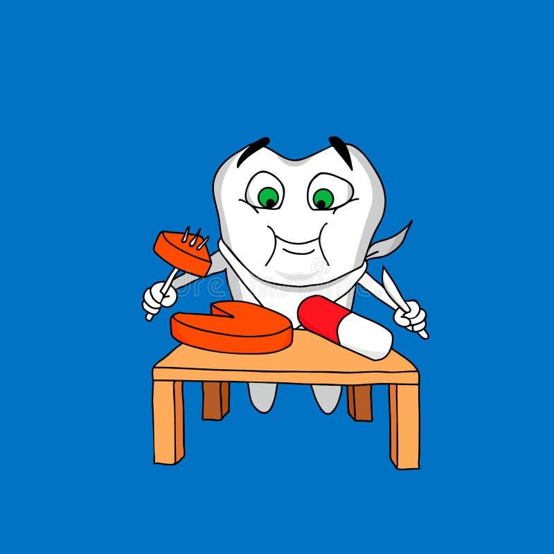 Zahn und Drogen stockfotos
