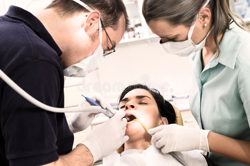 Zahnarzt stockfotografie
