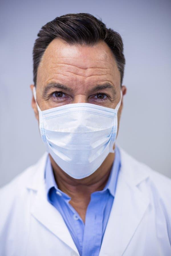 Zahnarzt Maske