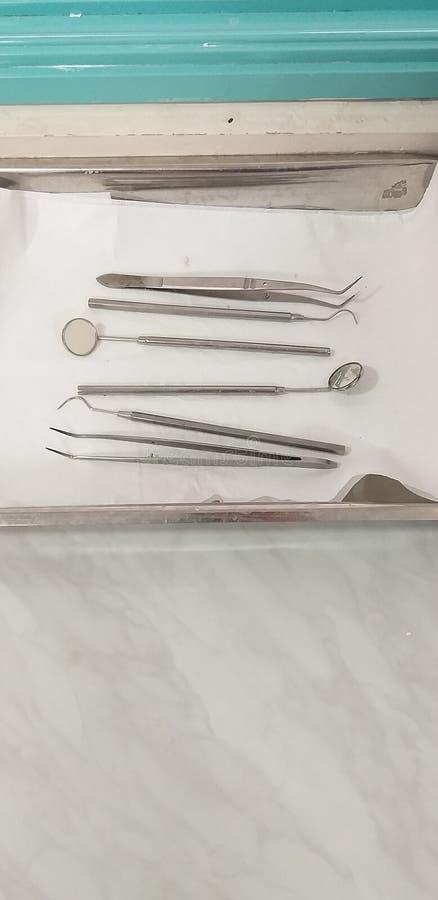 Zahnarzt Instruments lizenzfreie stockfotos
