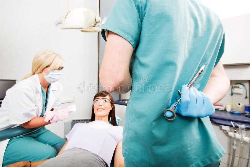 Zahnarzt-Nadel stockfotografie