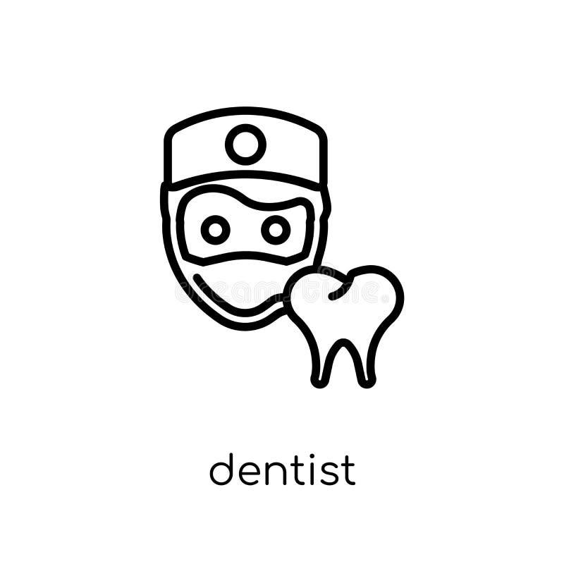 Zahnarztikone  lizenzfreie abbildung