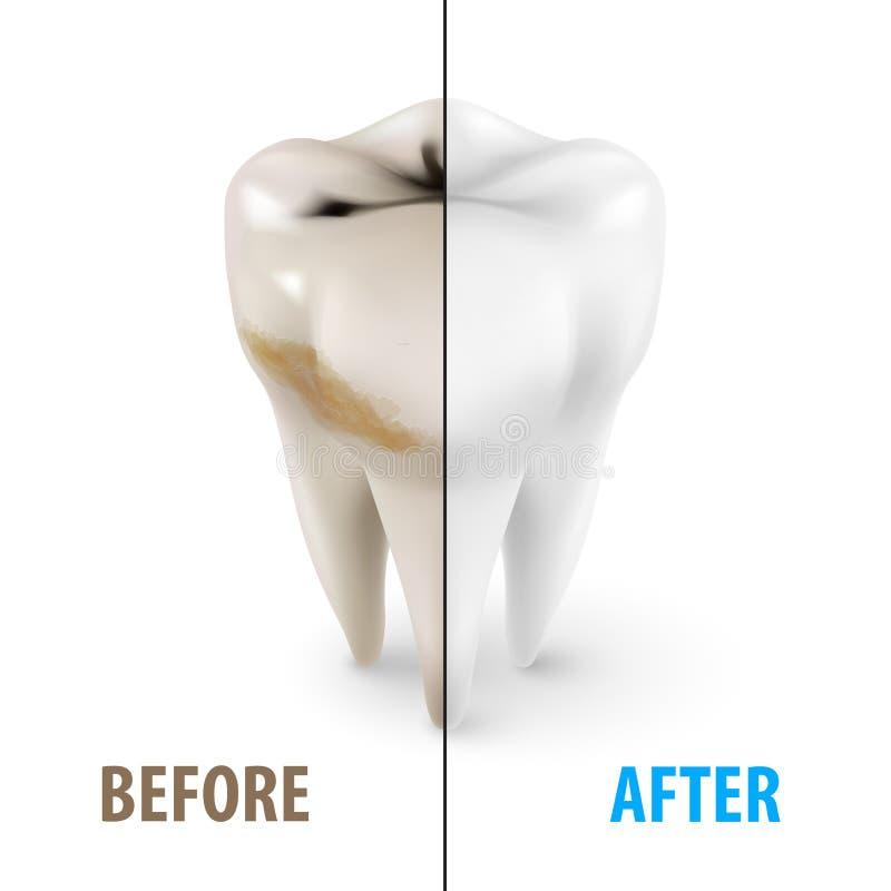 Zahnarztsymbol vektor abbildung