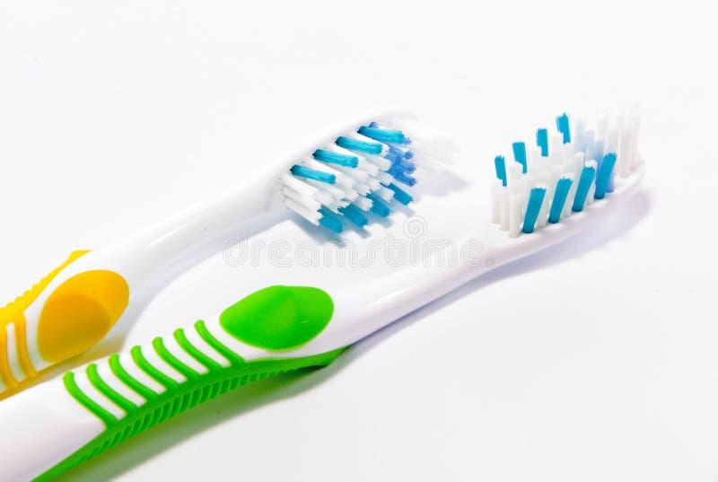 Zahnbürsten stockfoto