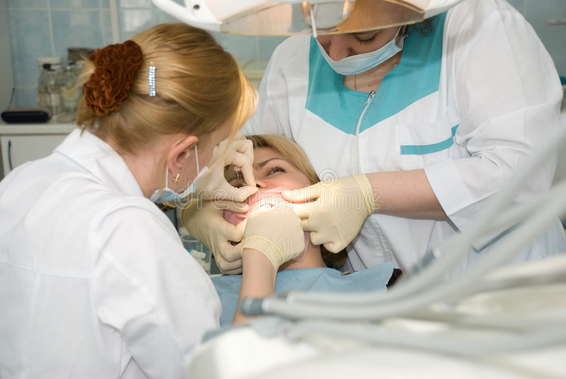 Zahnchirurgie stockfotografie