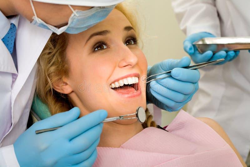 Zahnheilung stockfotos