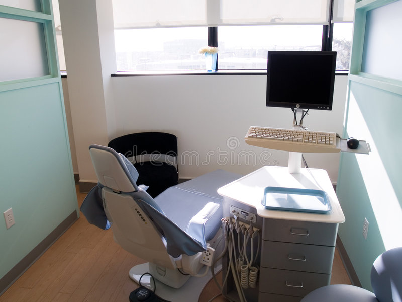 Zahnmedizinische Station stockfoto