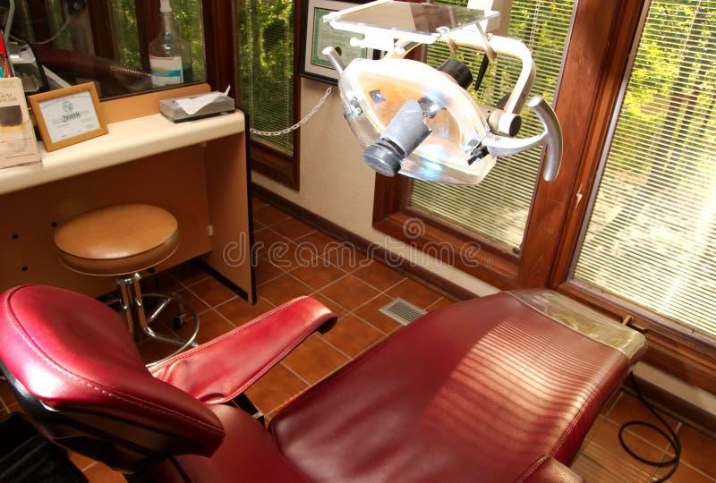 Zahnmedizinische Stuhlzahnarztversicherung lizenzfreies stockbild