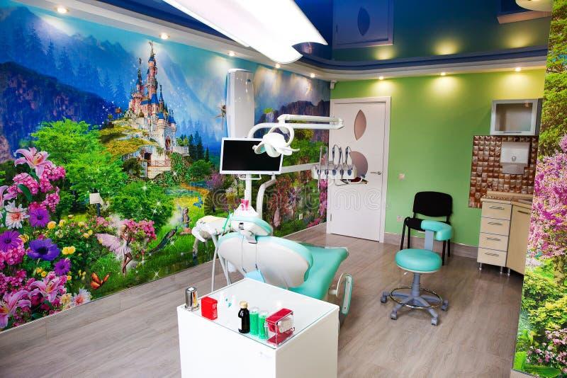 Zahnmedizinisches Büro der Stomatologie stockbild