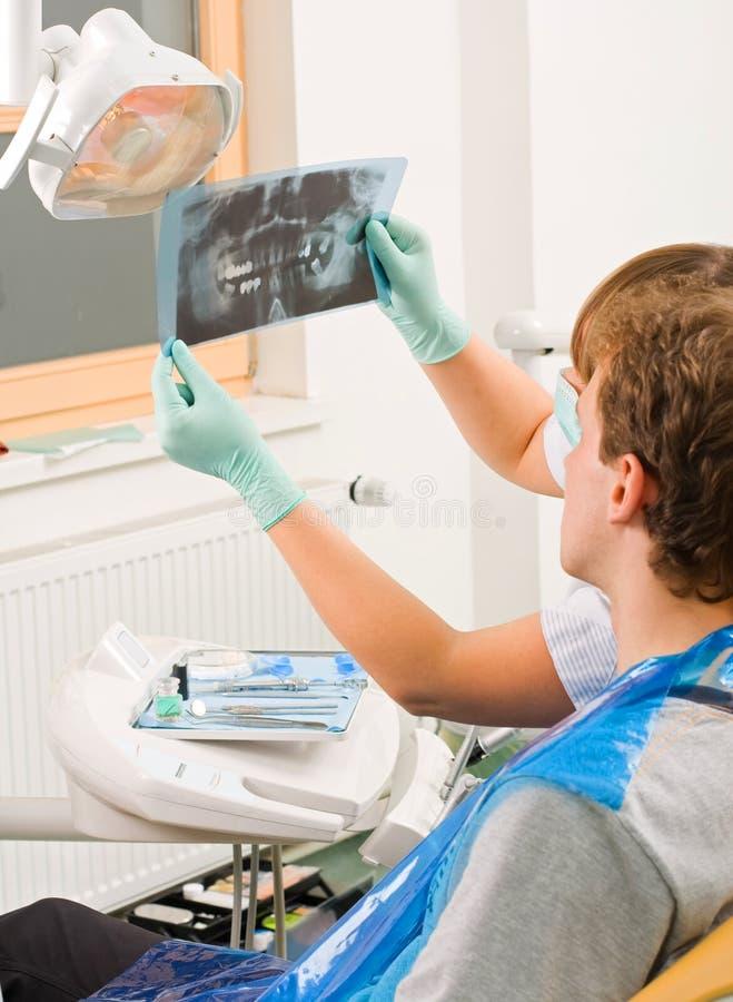 Zahnmedizinisches Rx stockfoto
