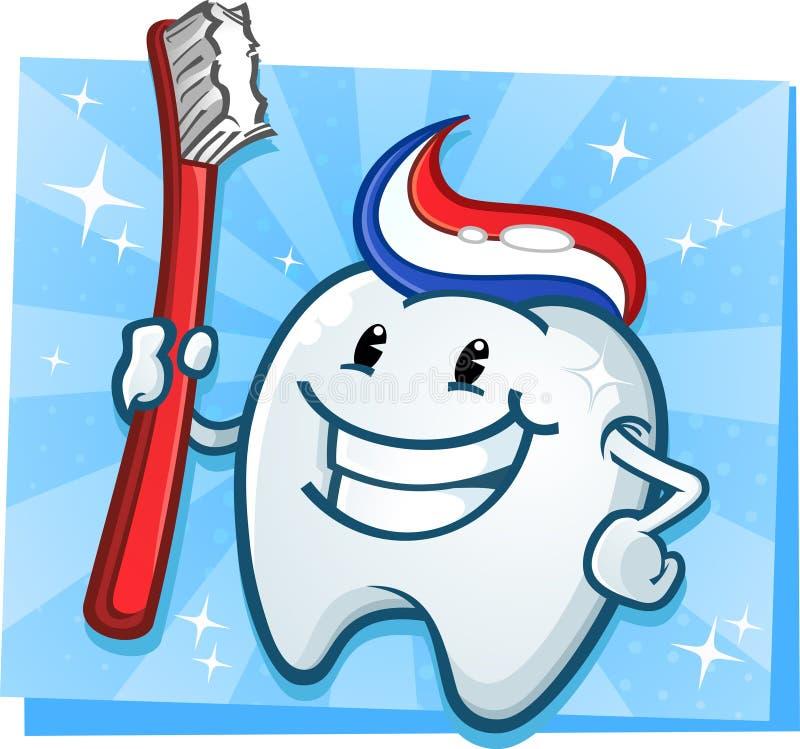 Download Zahnmedizinisches Zahn-Maskottchen Vektor Abbildung - Illustration von zahnheilkunde, minze: 27728871