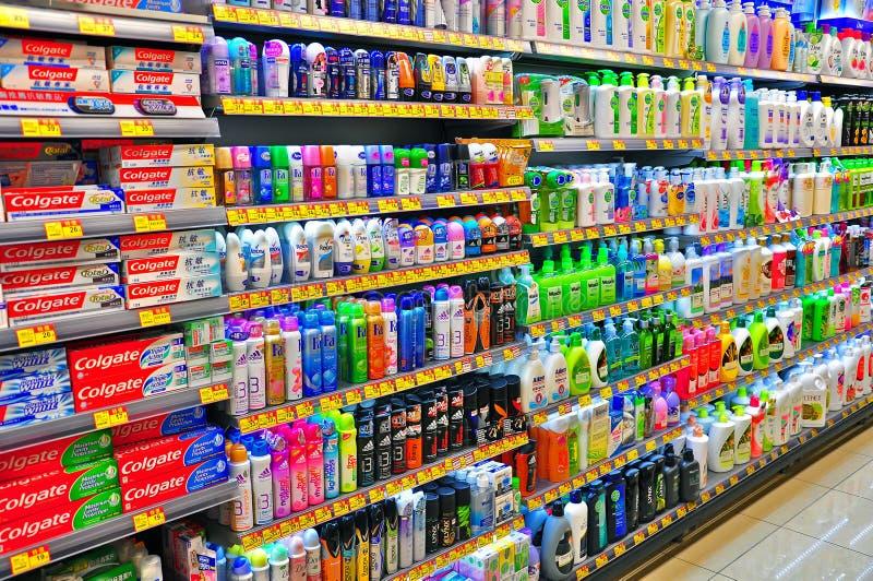 Zahnpasta- und Kosmetikprodukte