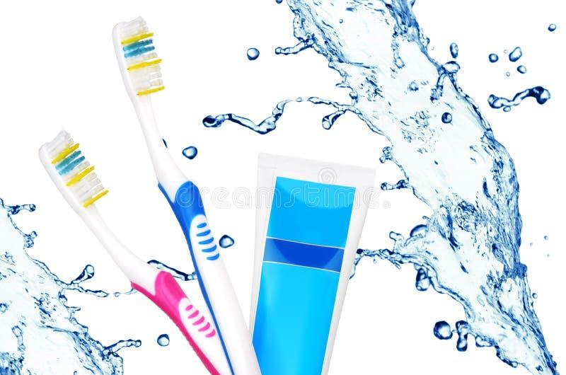 Zahnpflege stockfotos
