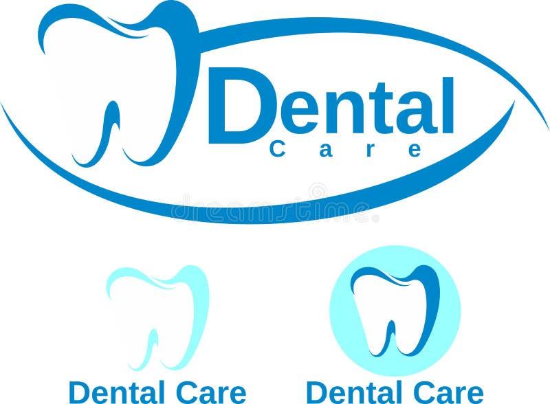 Zahnpflegeauslegung lizenzfreie abbildung