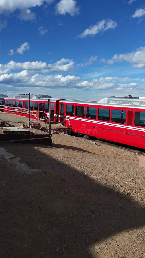 Zahnradbahn stockbild