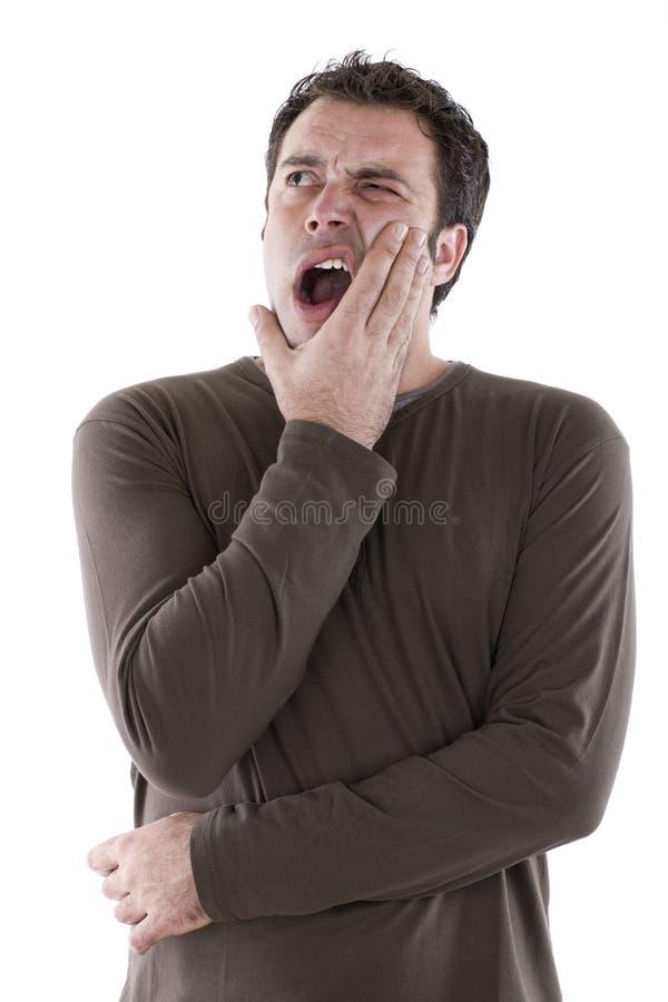 Zahnschmerzen lizenzfreies stockbild