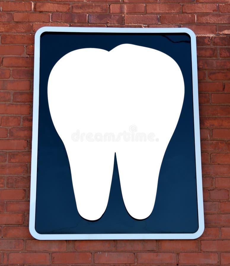 Zahnzeichen stockfotografie