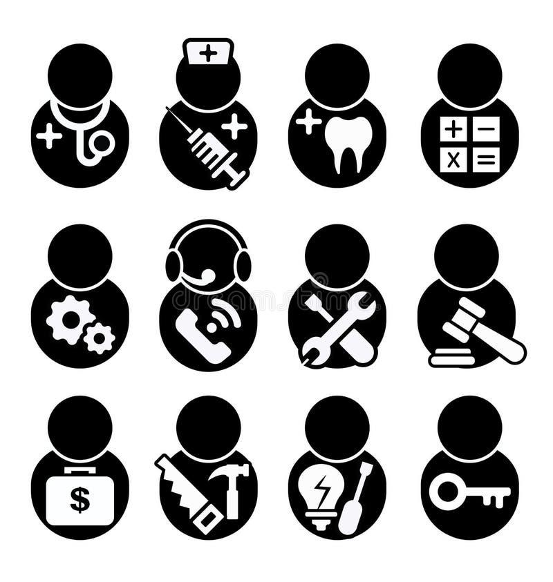 Zajęcie ikona royalty ilustracja