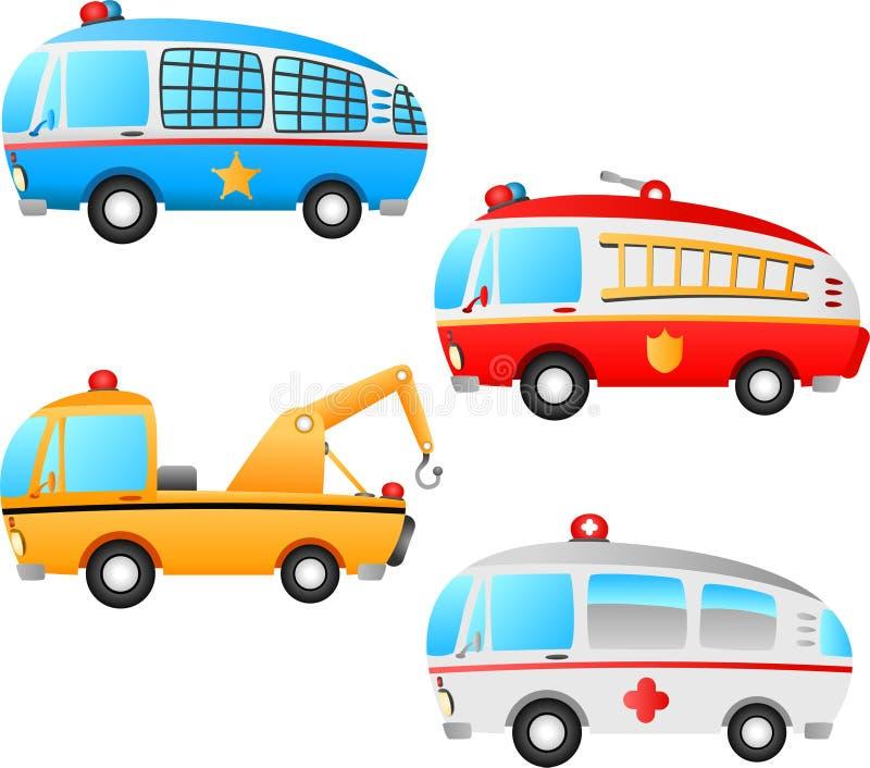 zajęcie pojazdy ilustracji