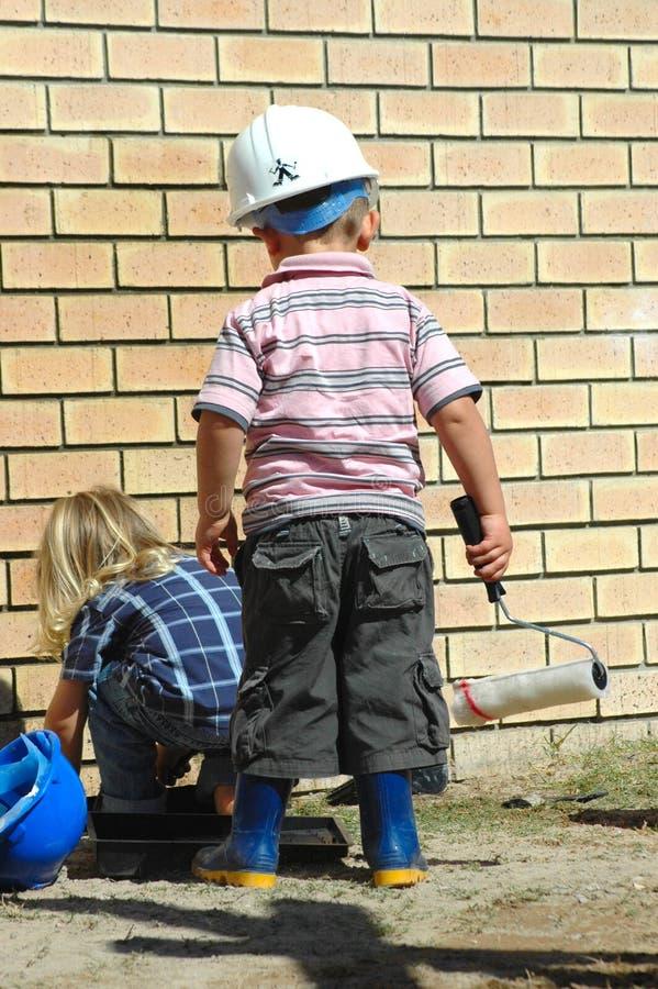 zajęty dzieci zdjęcia stock