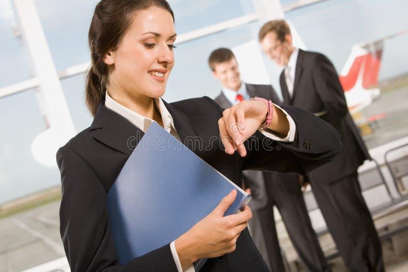 zajęty kobieta zdjęcia stock