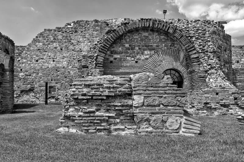 Zajecar Serbia, Lipiec, - 09, 2017: Dziejowy archeologiczny obraz royalty free