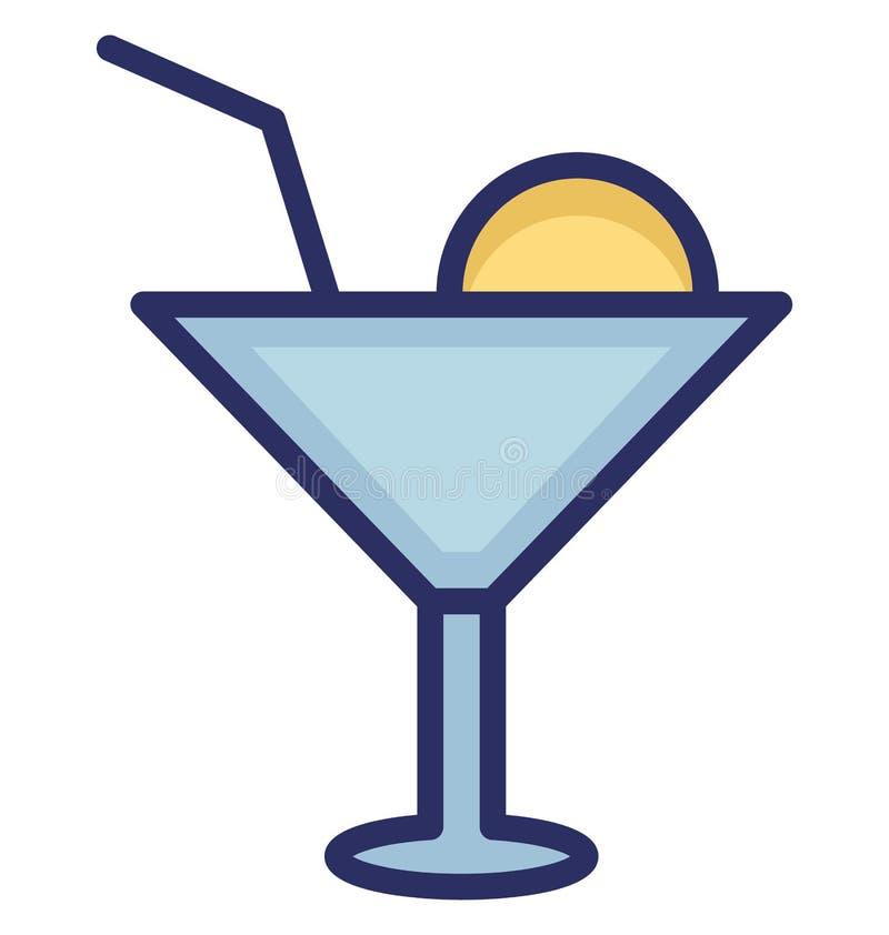 Zakąska napoju Wektorowa ikona która może łatwo redagować zakąska napoju Wektorową ikonę lub modyfikująca która może łatwo redago royalty ilustracja