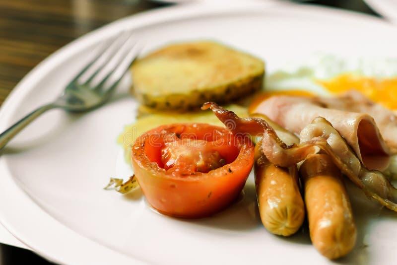 Zakąska, chleb, śniadanie, ser, gość restauracji fotografia royalty free
