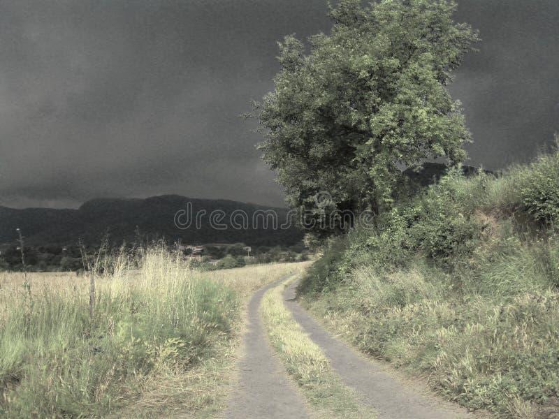 Zakłócać krajobraz fotografia stock
