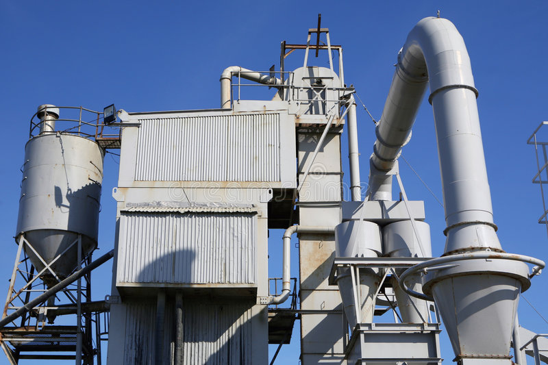 zakład przemysłowy obrazy stock