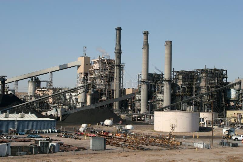 zakładu przemysłowego moc zdjęcia stock