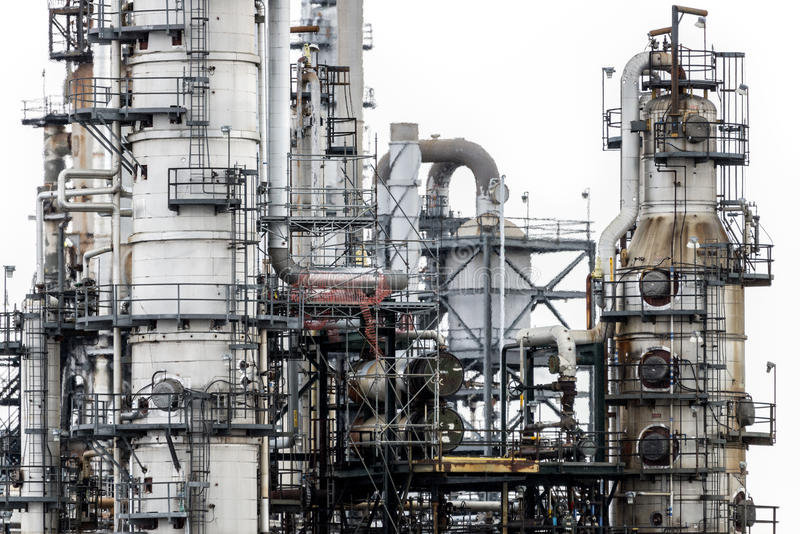 zakładu przemysłowego moc obraz stock