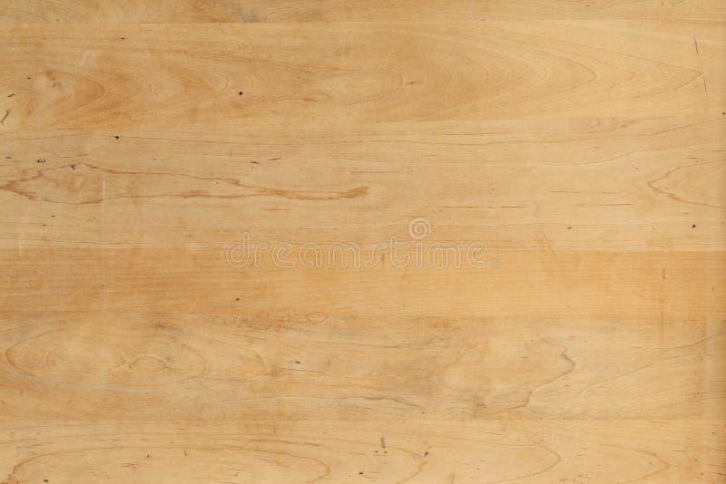Zakłopotany naturalny brzozy drewna panel fotografia stock