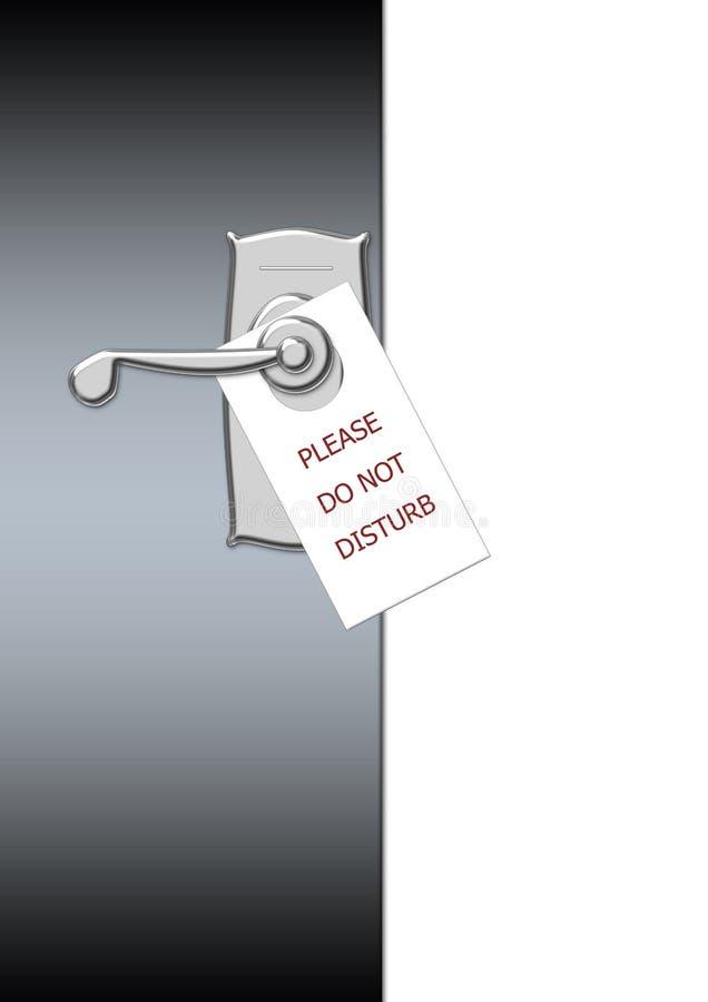 Download Zakłóca no nie ilustracji. Ilustracja złożonej z gosposie - 13329990