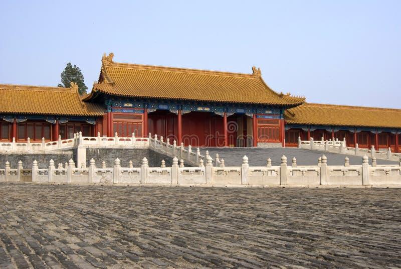 zakazane miasto w chinach obrazy stock