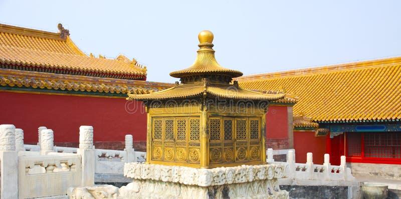 zakazane miasto w chinach fotografia stock