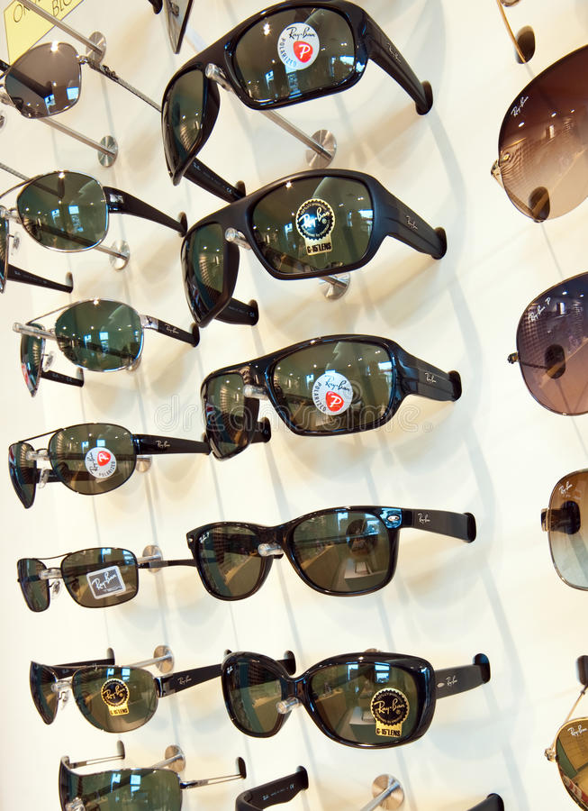 zakazu promienia okulary przeciwsłoneczne obraz stock
