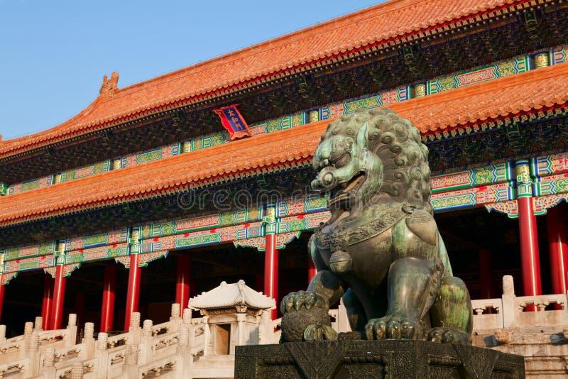 zakazujący Beijing miasto fotografia royalty free