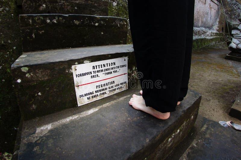 Zakazujący odzież buty obrazy royalty free