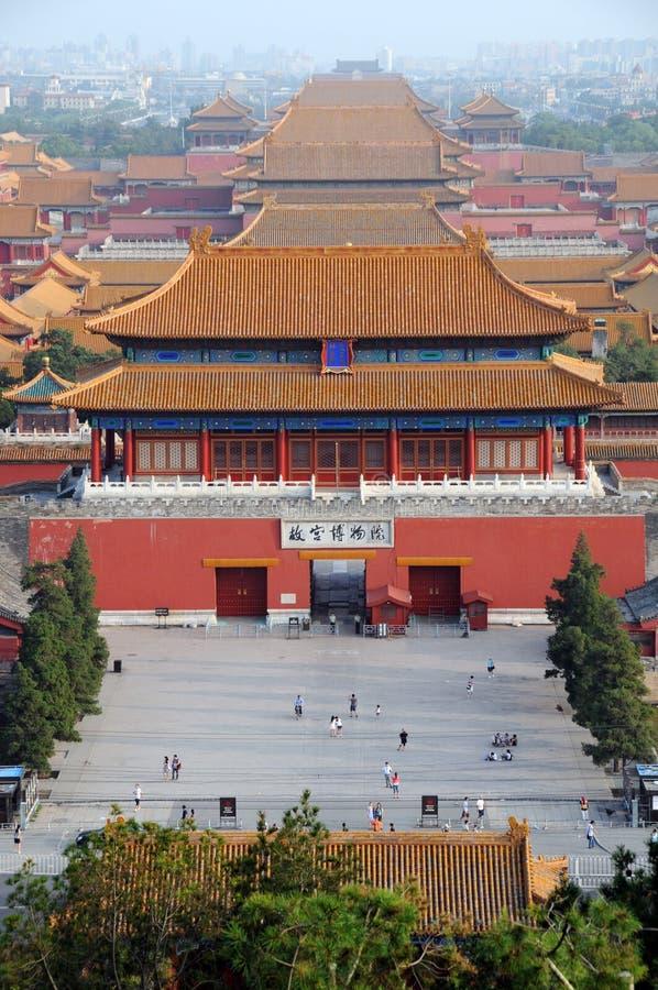 zakazujący porcelanowy Beijing miasto obrazy stock