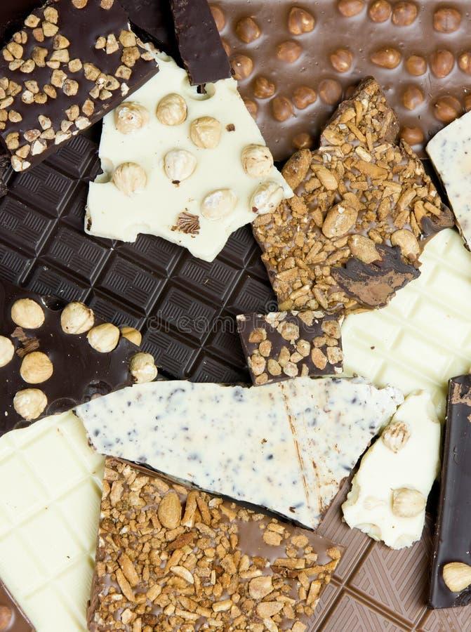 zakazuje czekoladę zdjęcia stock