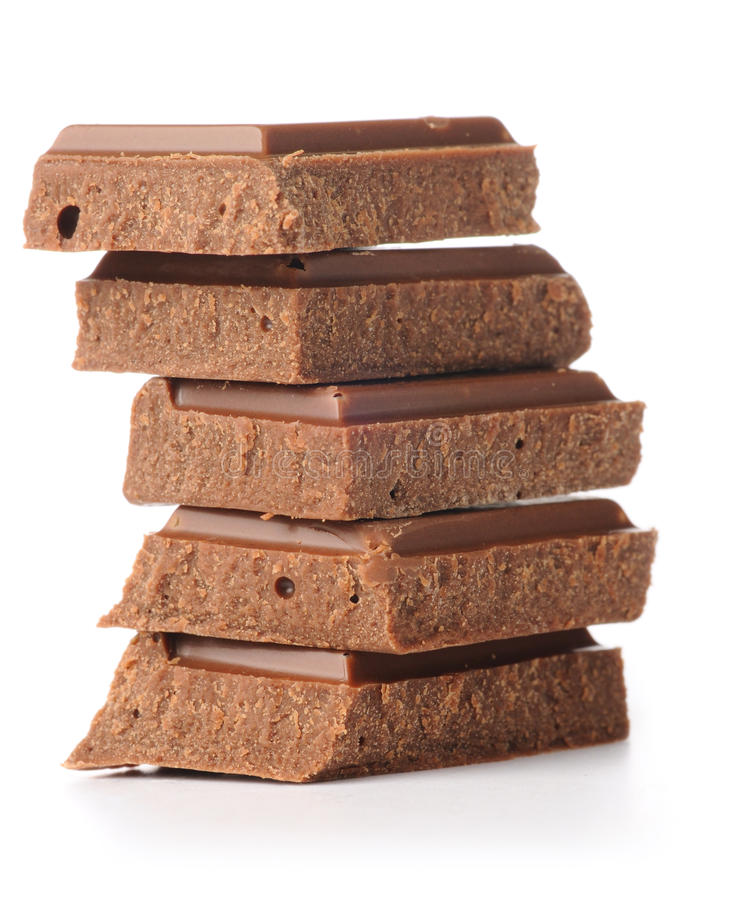 zakazuje czekoladę brogującą zdjęcia stock